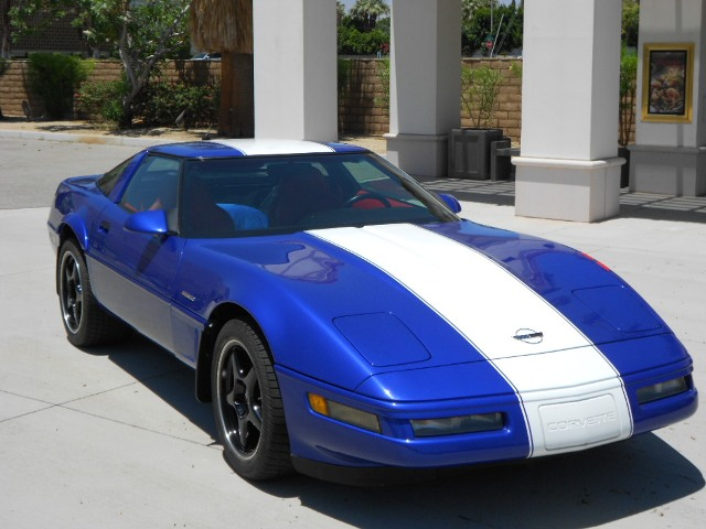 1996 CHEVROLET CORVETTE GRAND SPORT TARGA TOP - Front 3/4 - 154470