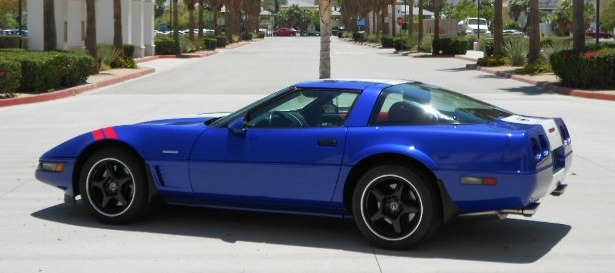 1996 CHEVROLET CORVETTE GRAND SPORT TARGA TOP - Side Profile - 154470