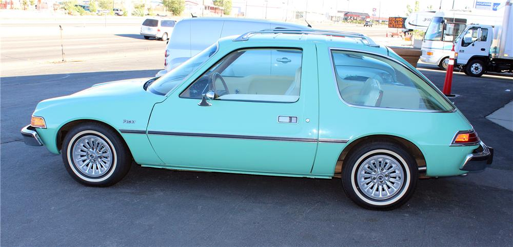 1975 AMC PACER 2 DOOR COUPE - Side Profile - 154473