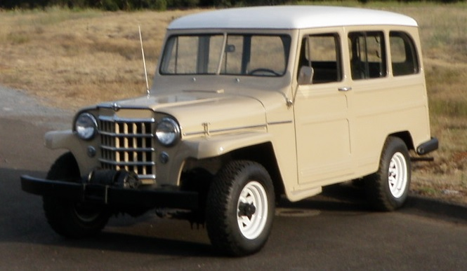 1952 JEEP WILLYS SUV - Front 3/4 - 154482