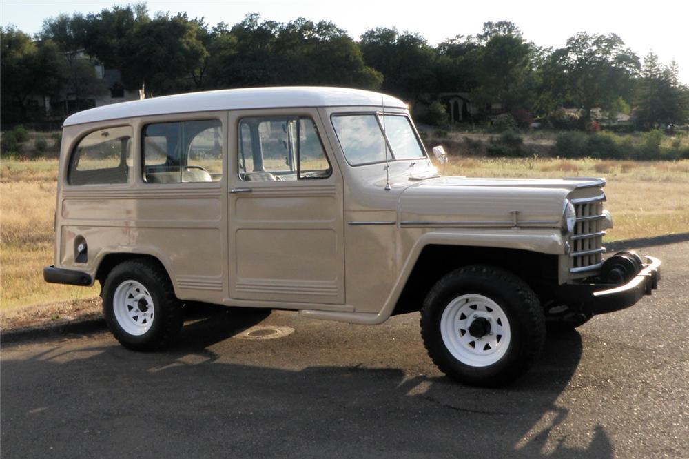 1952 JEEP WILLYS SUV - Side Profile - 154482