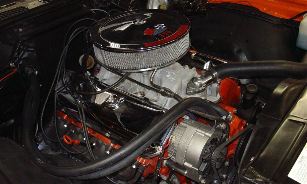 1969 CHEVROLET CHEVELLE SS 396 COUPE - Engine - 15460
