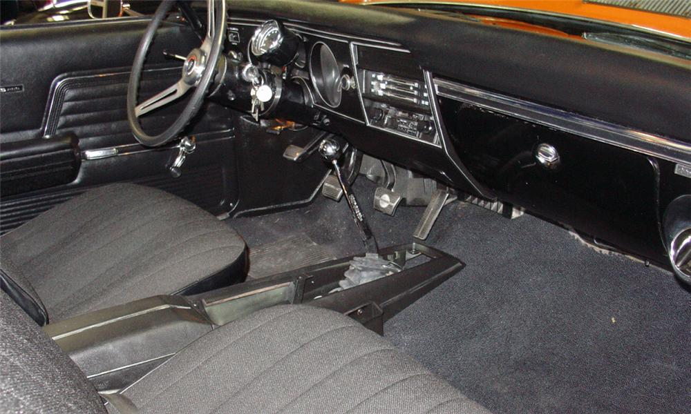 1969 CHEVROLET CHEVELLE SS 396 COUPE - Interior - 15460