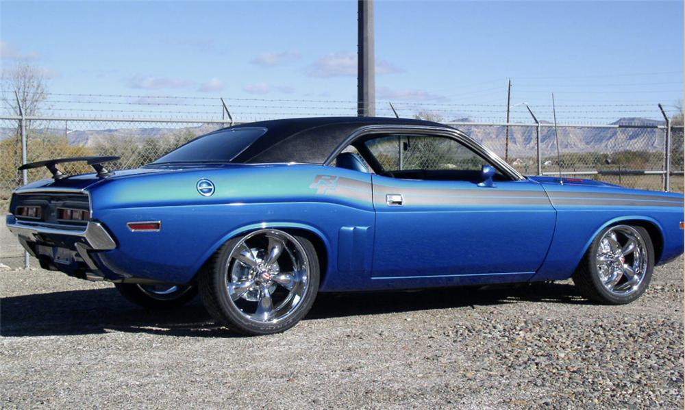 1971 DODGE CHALLENGER R/T COUPE - Side Profile - 15465