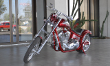"2003 CUSTOM ROGER BOURGETTE ""BLACKJACK"" MOTO -  - 15469"