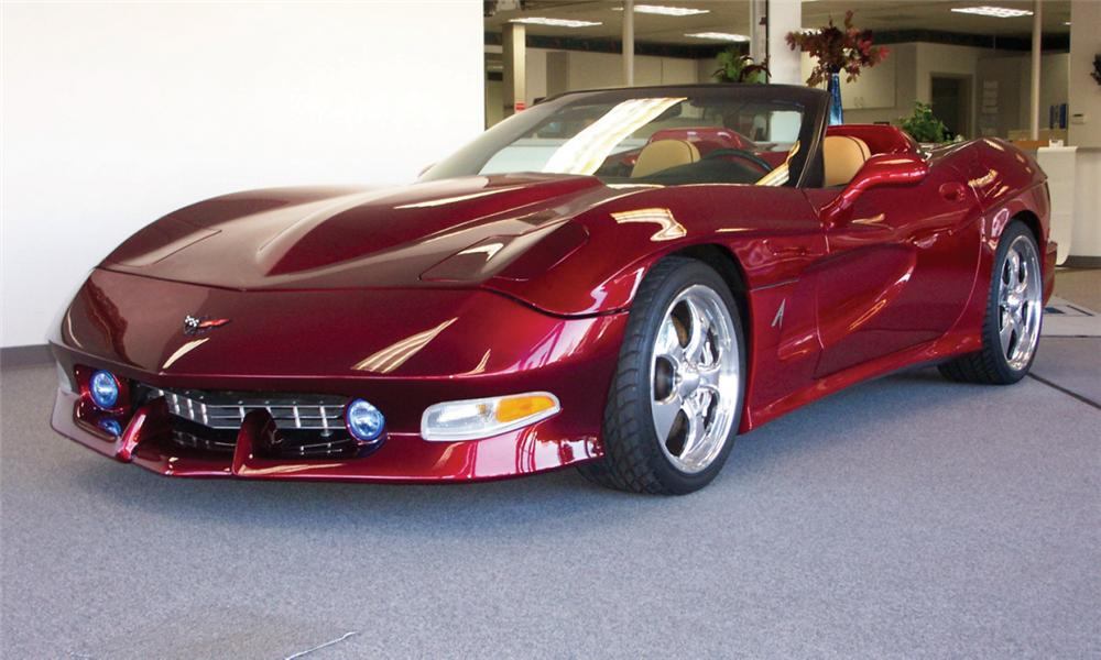 2000 chevrolet corvette avelate custom convertible 15473. Black Bedroom Furniture Sets. Home Design Ideas