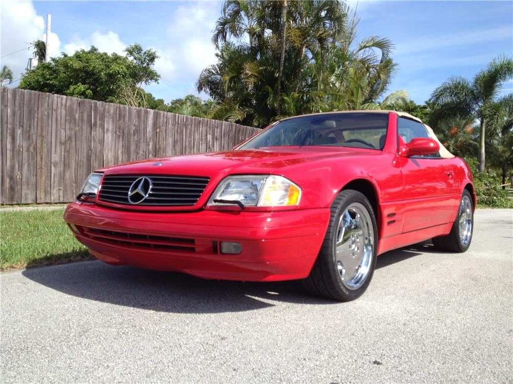 1999 MERCEDES-BENZ SL500 ROADSTER - Front 3/4 - 154779