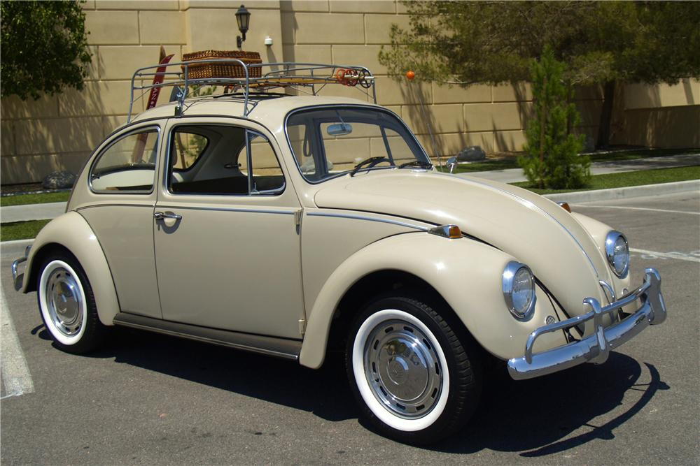 1967 VOLKSWAGEN BEETLE 2 DOOR SEDAN - Front 3/4 - 154792