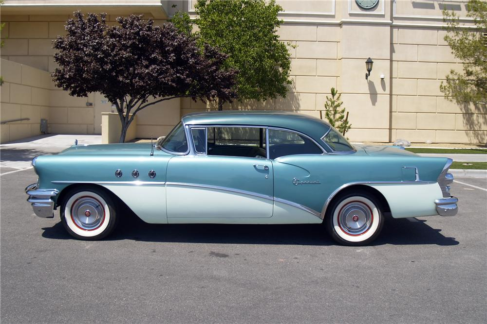 1955 BUICK SPECIAL 2 DOOR COUPE - Side Profile - 154793