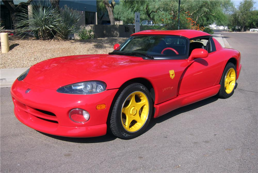 1996 DODGE VIPER RT/10 ROADSTER - Front 3/4 - 154797