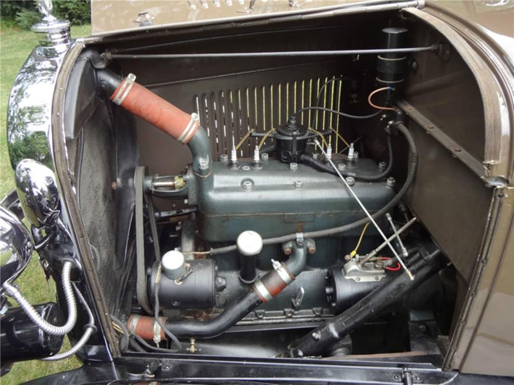 1928 FORD MODEL A ROADSTER - Engine - 154798