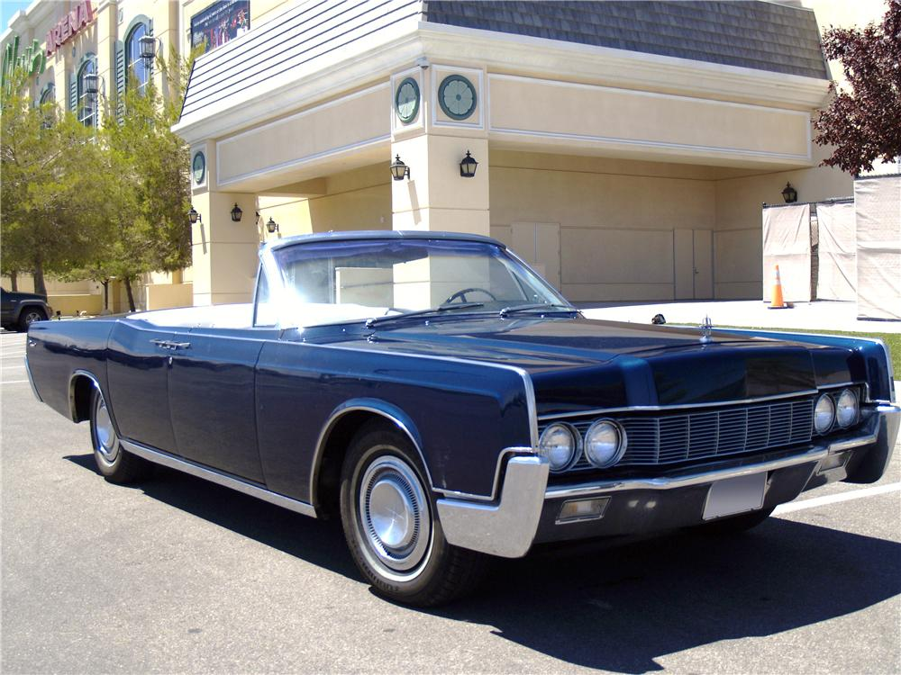 1967 lincoln continental 4 door
