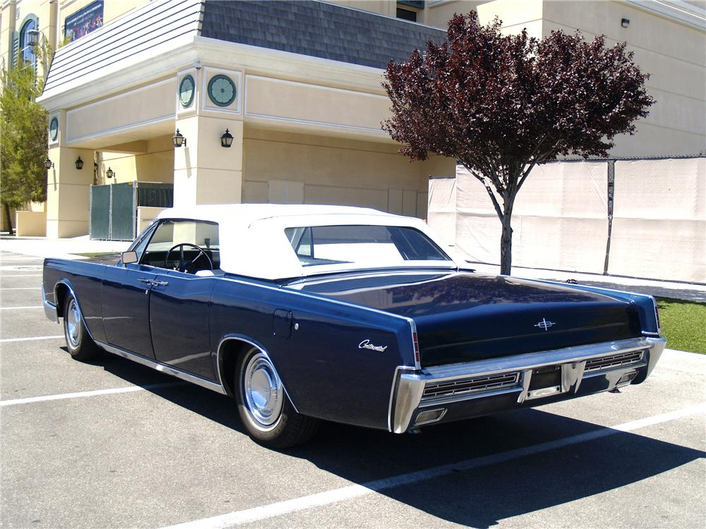 1967 lincoln continental 4 door convertible 154811. Black Bedroom Furniture Sets. Home Design Ideas
