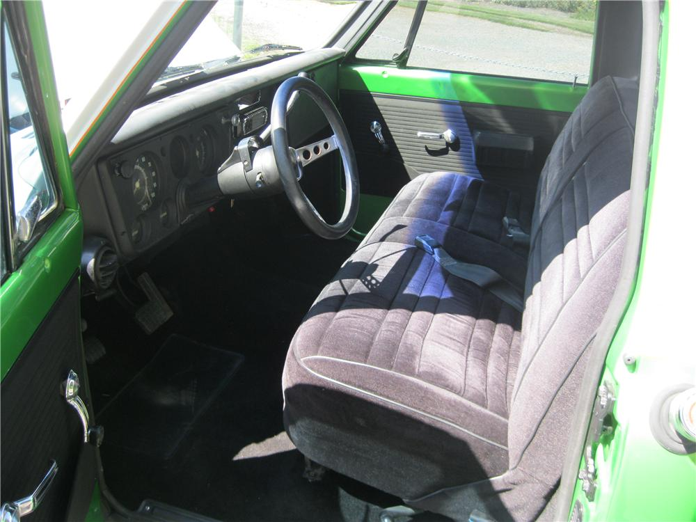 1971 GMC 1/2 TON CUSTOM PICKUP - Interior - 154813