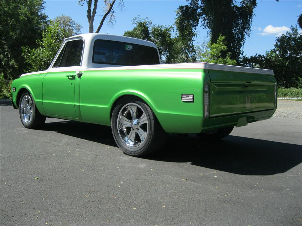 1971 GMC 1/2 TON CUSTOM PICKUP - Rear 3/4 - 154813