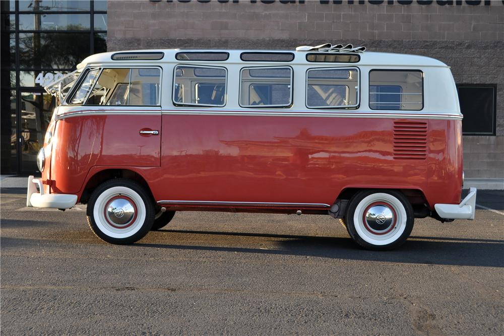 1966 VOLKSWAGEN 21 WINDOW SAMBA BUS