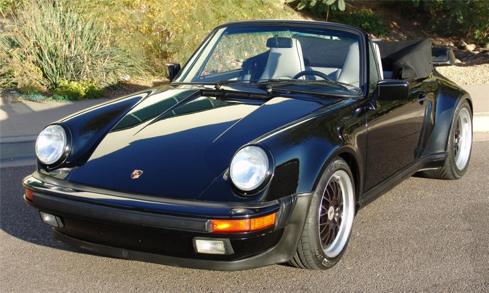 1988 PORSCHE 930 TURBO CABRIOLET - Side Profile - 15483