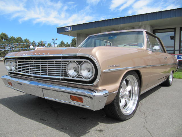 1964 CHEVROLET MALIBU CUSTOM 2 DOOR COUPE - Front 3/4 - 154841