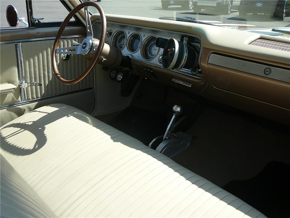 1964 CHEVROLET MALIBU CUSTOM 2 DOOR COUPE - Interior - 154841