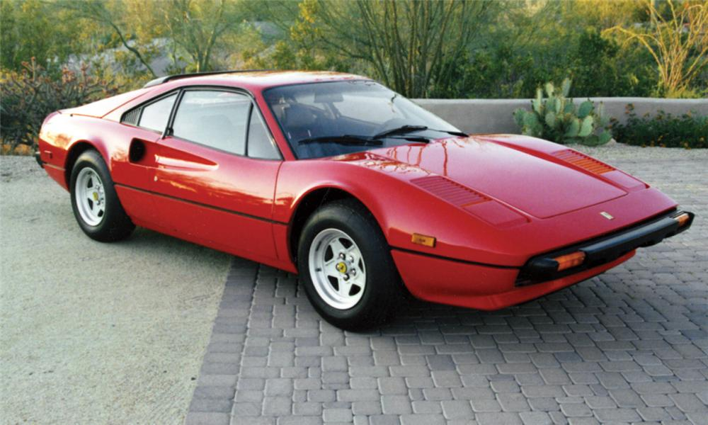 1980 FERRARI 308 GTBi 2 DOOR COUPE - Front 3/4 - 15493
