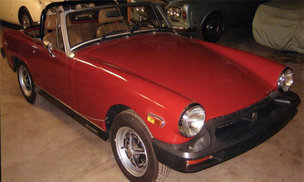 1979 MG MIDGET 2 DOOR CONVERTIBLE - Front 3/4 - 15497