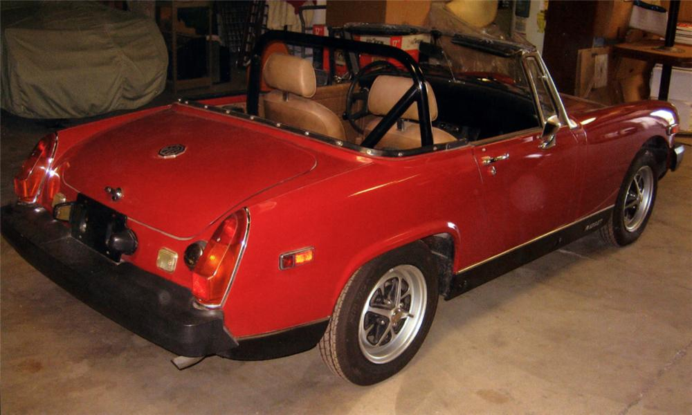 1979 MG MIDGET 2 DOOR CONVERTIBLE - Rear 3/4 - 15497