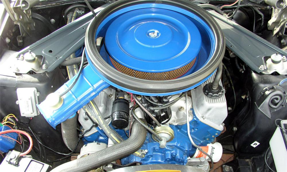 1971 FORD MUSTANG BOSS 351 FASTBACK - Engine - 15501
