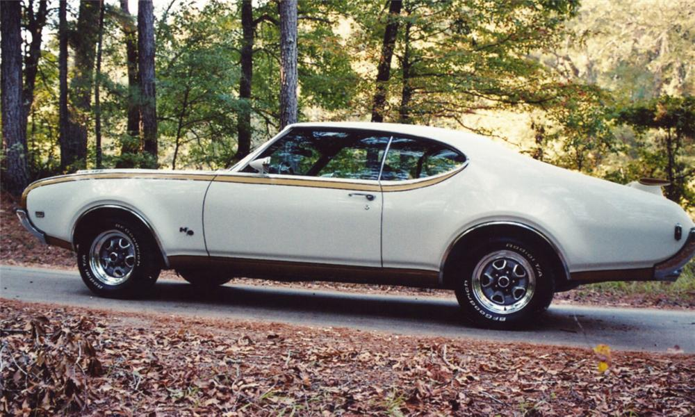 1969 OLDSMOBILE 442 HURST COUPE -  - 15510