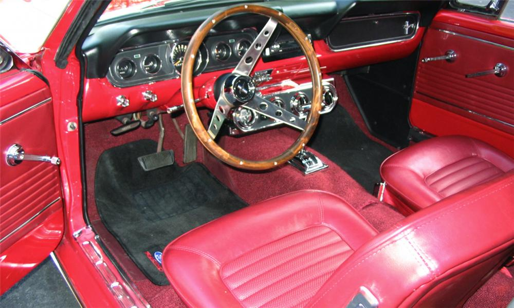 1966 FORD MUSTANG COUPE - Interior - 15511
