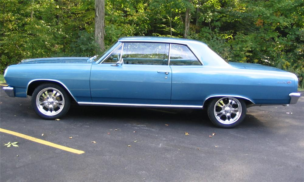 1965 CHEVROLET MALIBU SS 2 DOOR COUPE - Side Profile - 15512