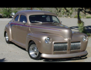 1942 FORD BUSINESS CUSTOM 2 DOOR HARDTOP COUPE -  - 15513