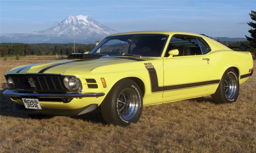 1970 ford mustang boss 302 fastback - 15515