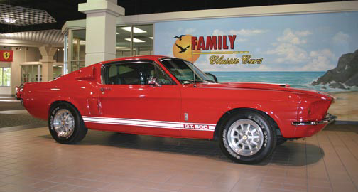 1967 SHELBY GT500 FASTBACK - Front 3/4 - 15521