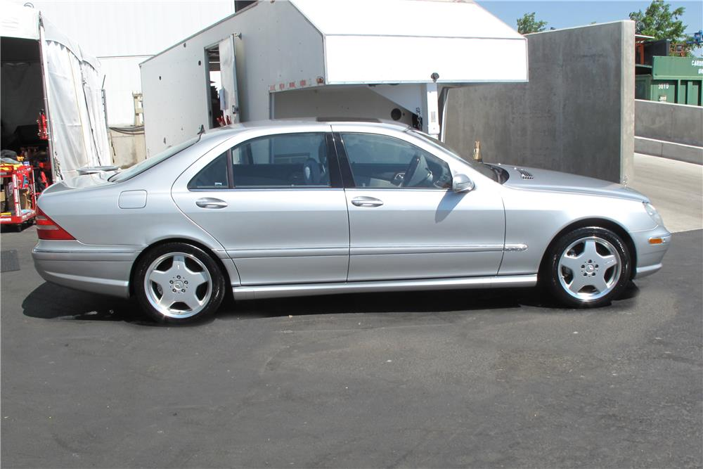 2001 mercedes benz s600 4 door sedan 155214