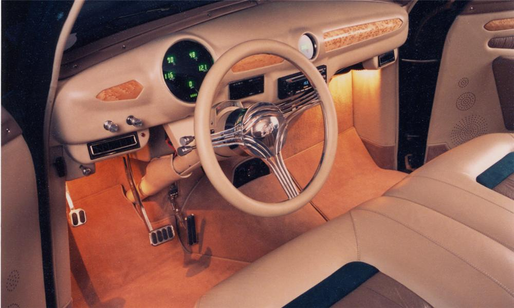 1950 FORD CUSTOM WOODY STATION WAGON - Interior - 15533