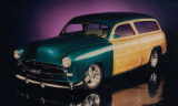 1950 FORD CUSTOM WOODY STATION WAGON -  - 15533