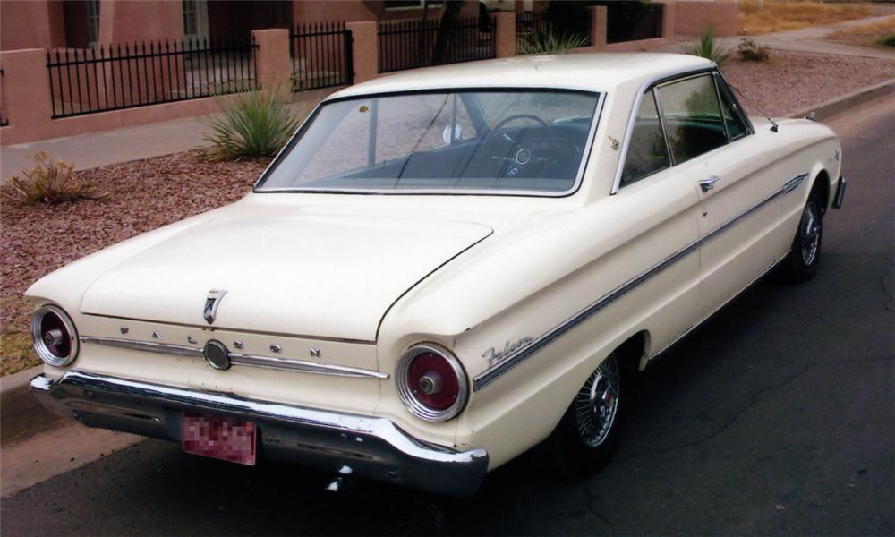 1963 FORD FALCON 2 DOOR HARDTOP SPRINT 15538