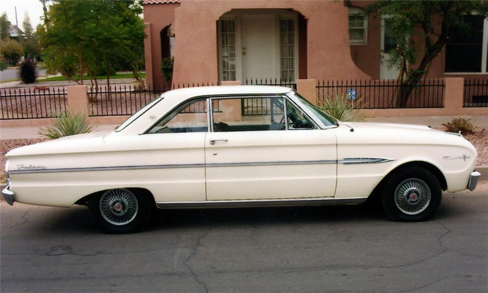 1963 FORD FALCON 2 DOOR HARDTOP SPRINT 15538 on 63 ford falcon parts