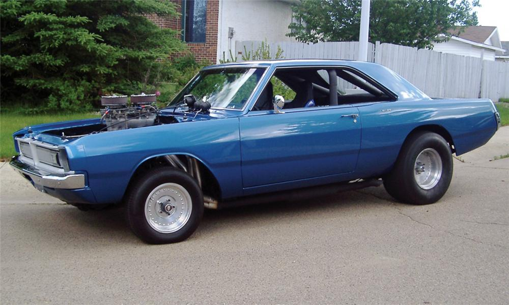 1970 DODGE DART FACTORY DRAG CAR - Front 3/4 - 15539