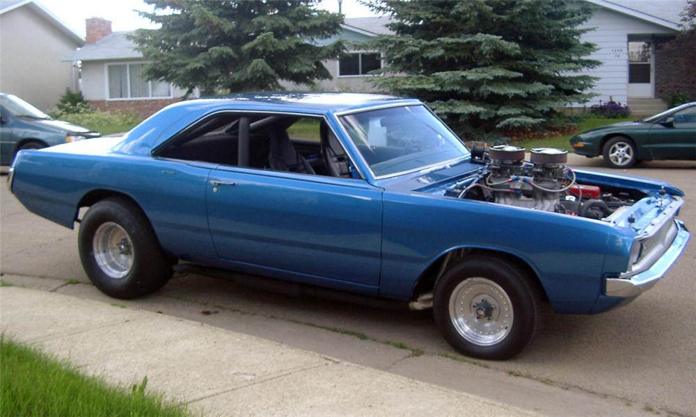 1970 DODGE DART FACTORY DRAG CAR - Side Profile - 15539