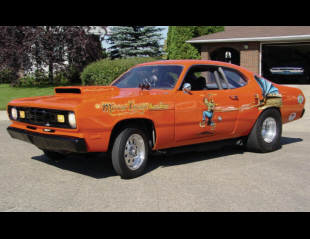 1972 PLYMOUTH DUSTER DRAG CAR -  - 15540