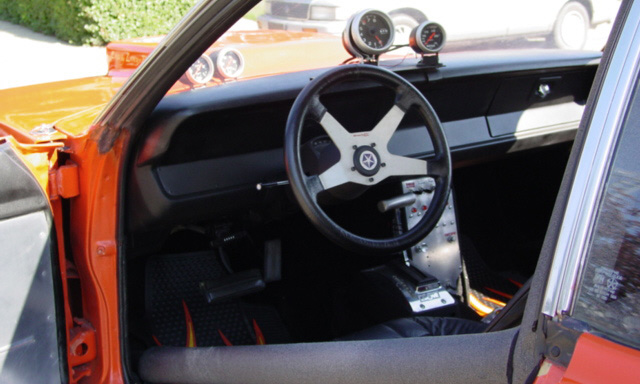 1972 PLYMOUTH DUSTER DRAG CAR - Interior - 15540