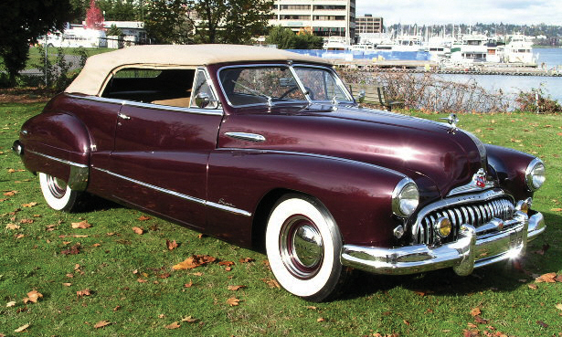 1948 BUICK SUPER CONVERTIBLE - Front 3/4 - 15545