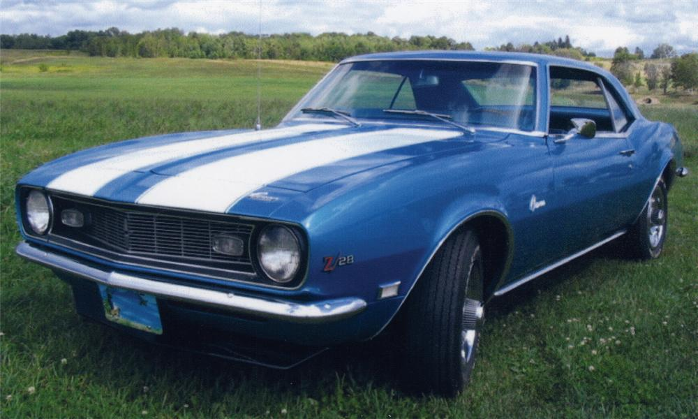 1968 CHEVROLET CAMARO Z/28 COUPE - Front 3/4 - 15546