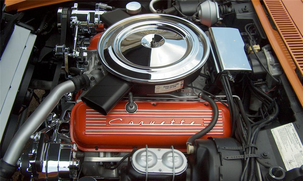 1972 CHEVROLET CORVETTE CUSTOM COUPE T-TOP - Engine - 15550