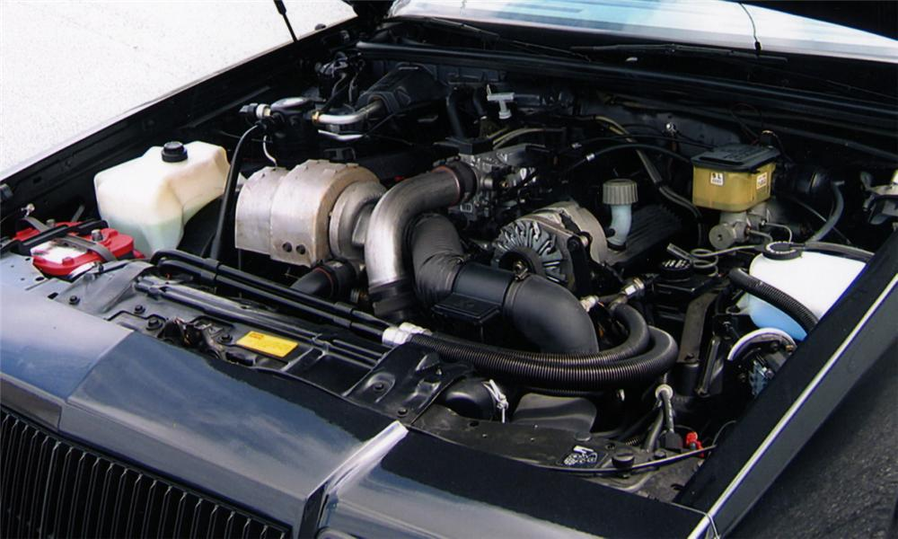 1987 BUICK REGAL GRAND NATIONAL COUPE - Engine - 15559