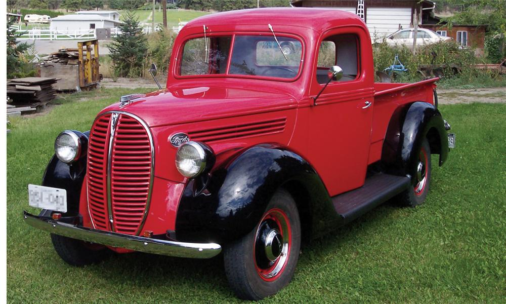 1938 FORD 85 PICKUP - Front 3/4 - 15563