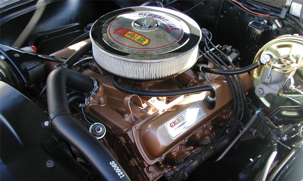 1967 OLDSMOBILE 442 COUPE - Engine - 15584