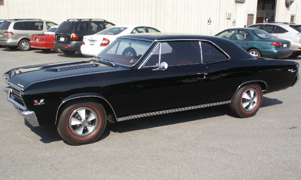 1967 CHEVROLET CHEVELLE SS 396 2 DOOR COUPE - Front 3/4 - 15594