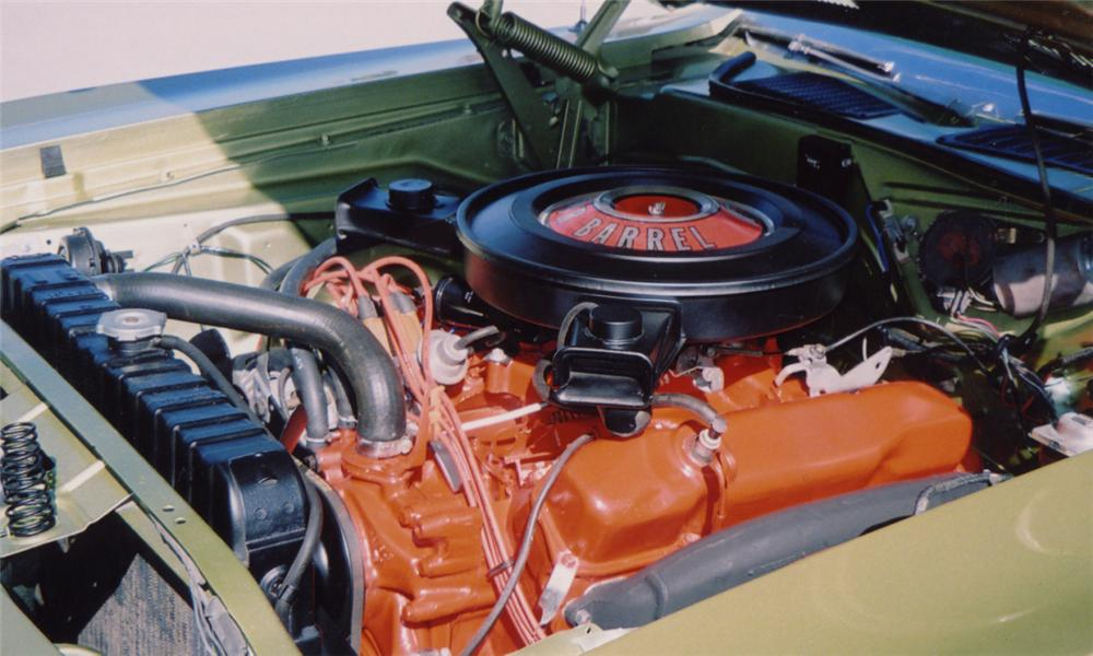1970 PLYMOUTH BARRACUDA COUPE - Engine - 15596